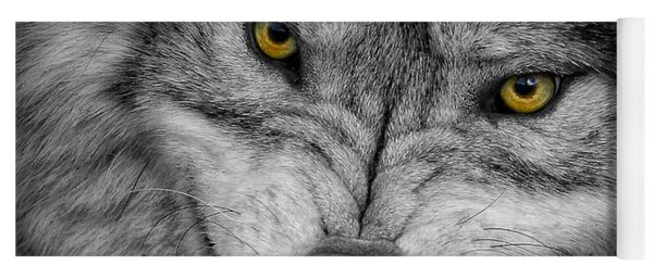 Timber Wolf Picture - Tw292 Yoga Mat