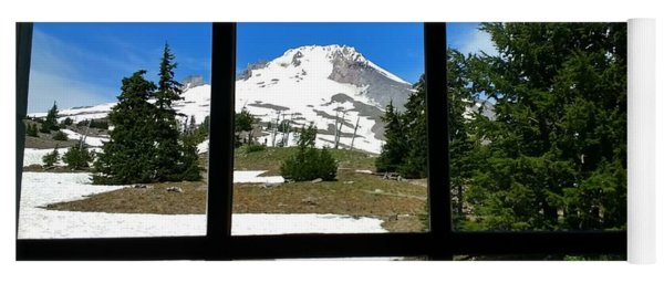 Timberline Lodge View Yoga Mat
