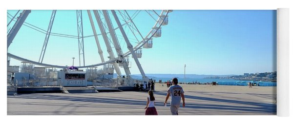 Time For The Ferris Wheel Yoga Mat