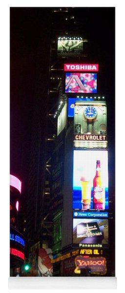 Times Square 1 Yoga Mat