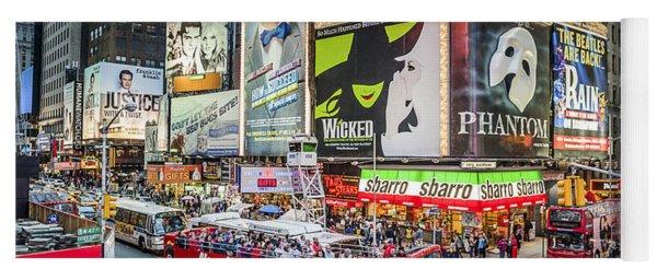 Times Square II Yoga Mat