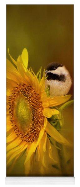 Tiny Surprise Bird Art Yoga Mat
