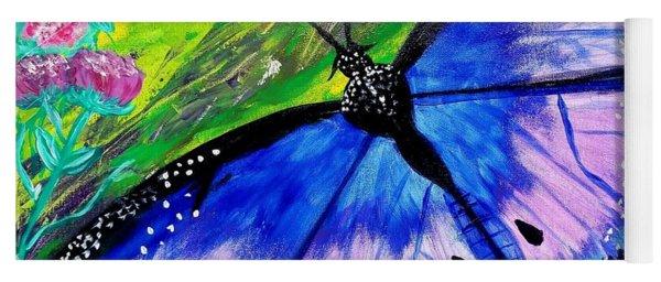 Titanium Butterfly Yoga Mat