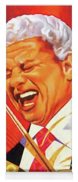 Tito Puente Yoga Mat