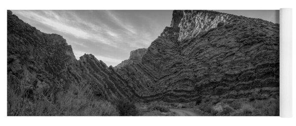 Titus Canyon Road Yoga Mat