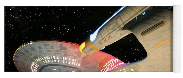 To Boldly Go Yoga Mat