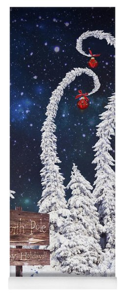 To The North Pole Yoga Mat