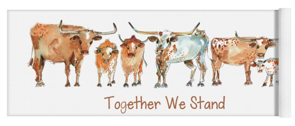 Together We Stand Lh013 Yoga Mat