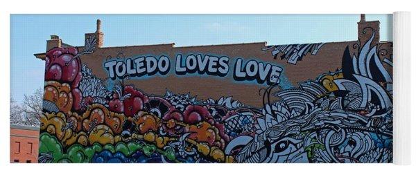 Toledo Loves Love Yoga Mat