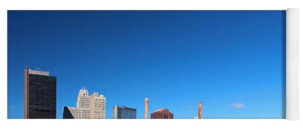Toledo Skyline I Yoga Mat