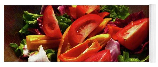 Tomato Salad Yoga Mat