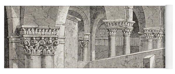 Tomb Of Godfrey De Boullon, C 1060 - Yoga Mat