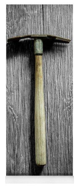 Tools On Wood 16 On Bw Yoga Mat
