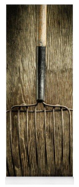 Tools On Wood 25 Yoga Mat