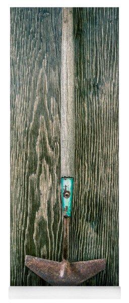 Tools On Wood 6 Yoga Mat