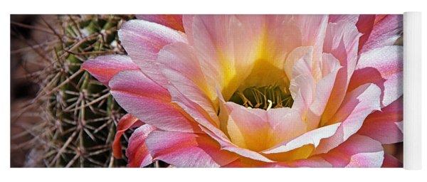Torch Cactus Flower Yoga Mat