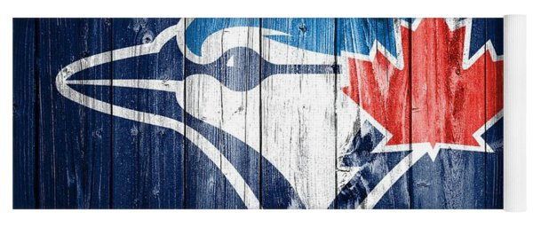 Toronto Blue Jays Barn Door Yoga Mat