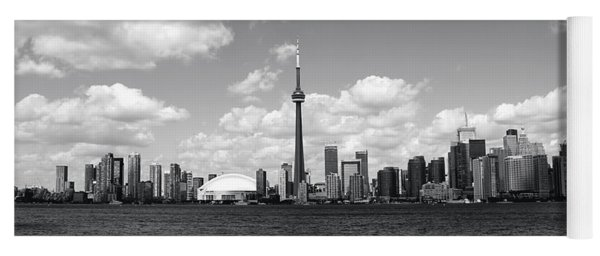 Toronto Skyline 11 Yoga Mat