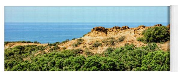 Torrey Pines California - Chaparral On The Coastal Cliffs Yoga Mat