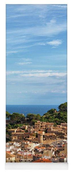 Tossa De Mar Seaside Town In Spain Yoga Mat