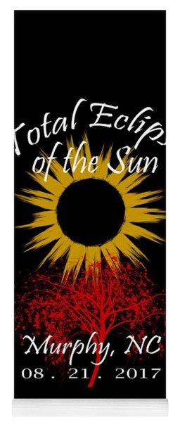 Total Eclipse T-shirt Art Murphy Nc Yoga Mat