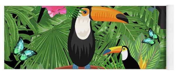 Toucan Tropic  Yoga Mat