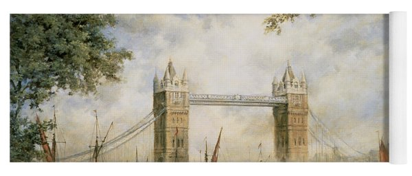 Tower Bridge - From The Tower Of London Yoga Mat