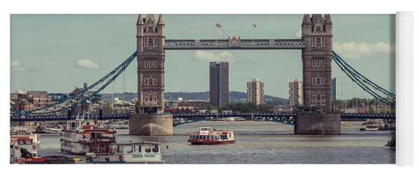 Tower Bridge B Yoga Mat