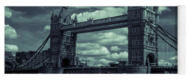 Tower Bridge Bw Yoga Mat