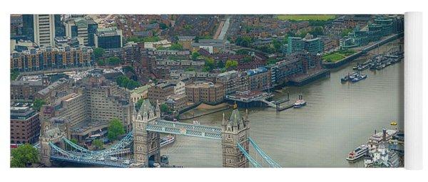 Tower Bridge In London Yoga Mat