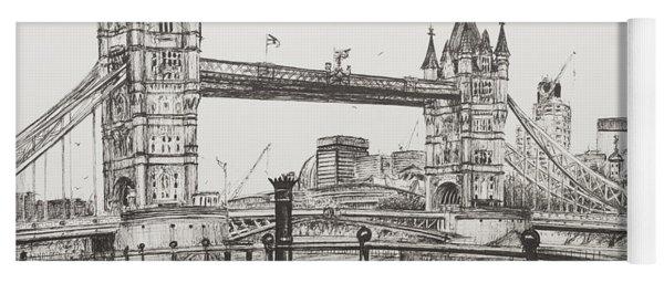 Tower Bridge Yoga Mat