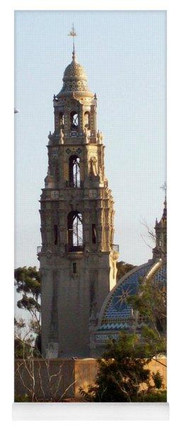 Tower Of Casa De Balboa In Balboa Park In San Diego - 2017 Yoga Mat