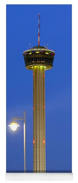 Tower Of The Americas Yoga Mat