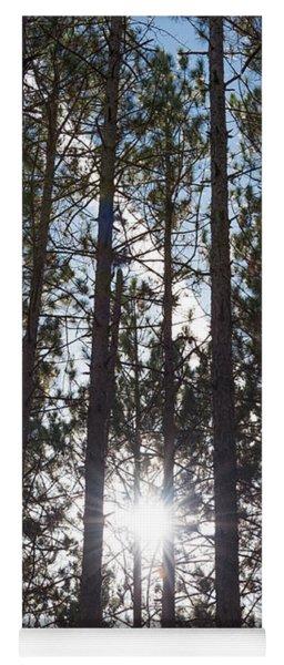 Towering Pines Yoga Mat