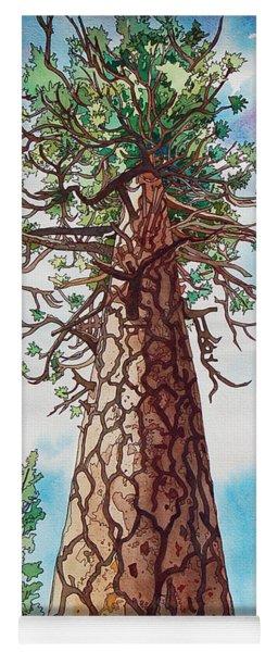 Towering Ponderosa Pine Yoga Mat