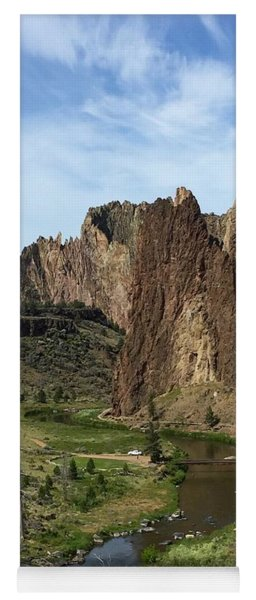 Towering Smith Rocks Yoga Mat