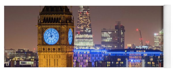 Towers Of London Yoga Mat