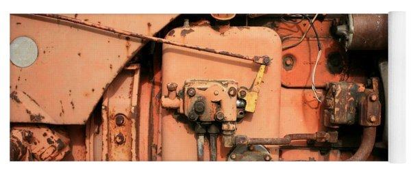 Tractor Engine V Yoga Mat