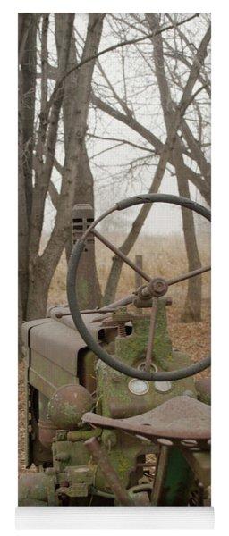 Tractor Morning Yoga Mat