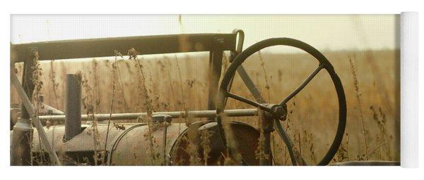 Tractor Sunrise Yoga Mat