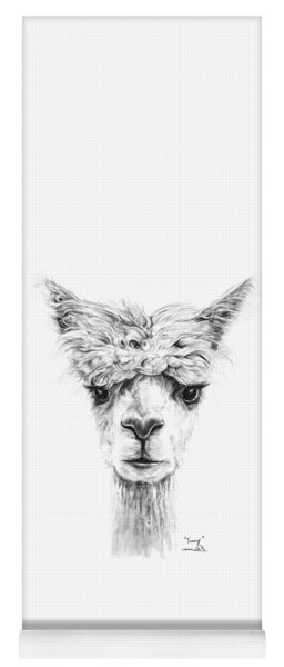 Yoga Mat featuring the photograph Tracy by K Llamas