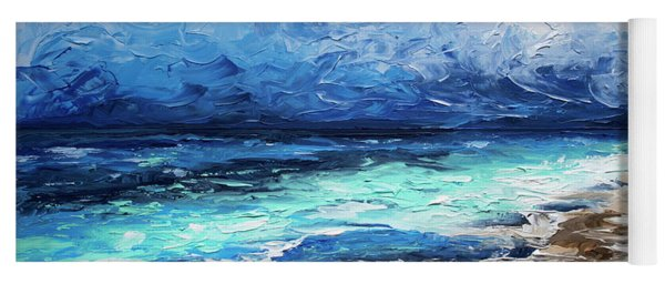 Yoga Mat featuring the painting Trade Winds by William Love