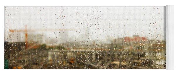 Train In The Rain Yoga Mat