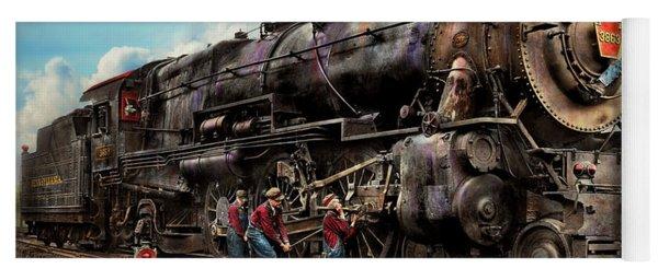 Train - Working On The Railroad 1930 Yoga Mat