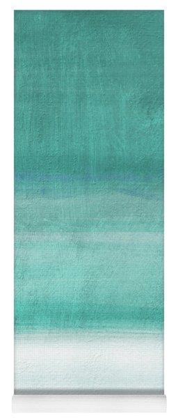 Tranquil Horizon- Art By Linda Woods Yoga Mat