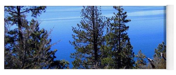 Tranquil Lake Tahoe Yoga Mat