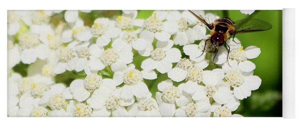 Transverse Flower Fly Yoga Mat