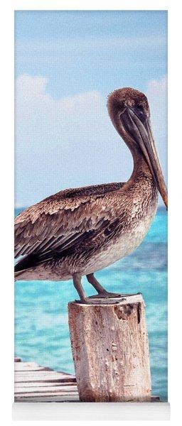 Treasure Coast Pelican Pier Seascape C1 Yoga Mat