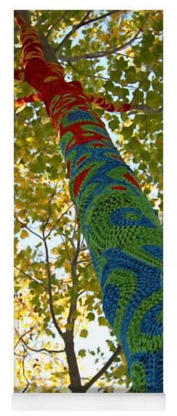 Tree Crochet Yoga Mat