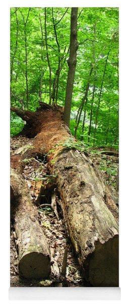 Tree Down Yoga Mat